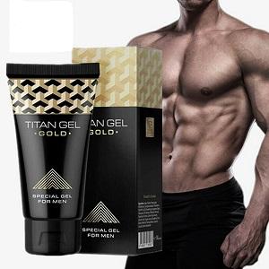 Kemasan Titan Gel Gold Asli